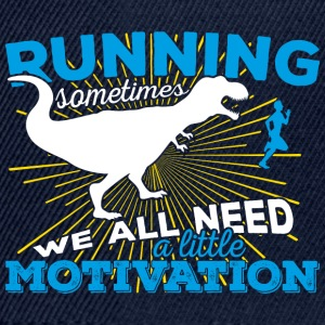 Running, sometimes we all need a little motivation - Snapback Cap