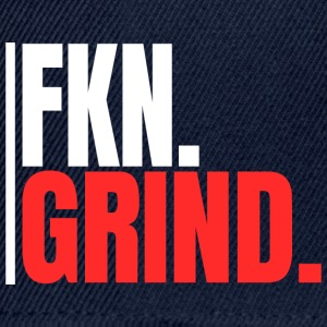 """FKN.GRIND."" - Casquette snapback"