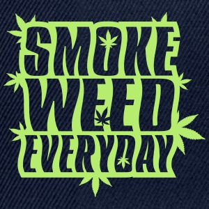 SMOKE_WEED_EVERYDAY - Casquette snapback