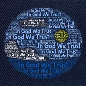 In God We Trust met Tagul Style - Snapback cap