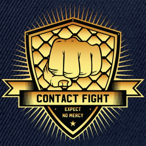 Contact Fight Gold - Snapback Cap