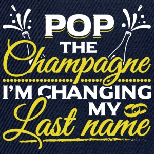 JGA - POP THE CHAMPAGNE IM CHANGING MY NAME - Snapback Cap