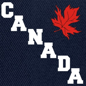 Canada Maple Leaf - Snapback Cap
