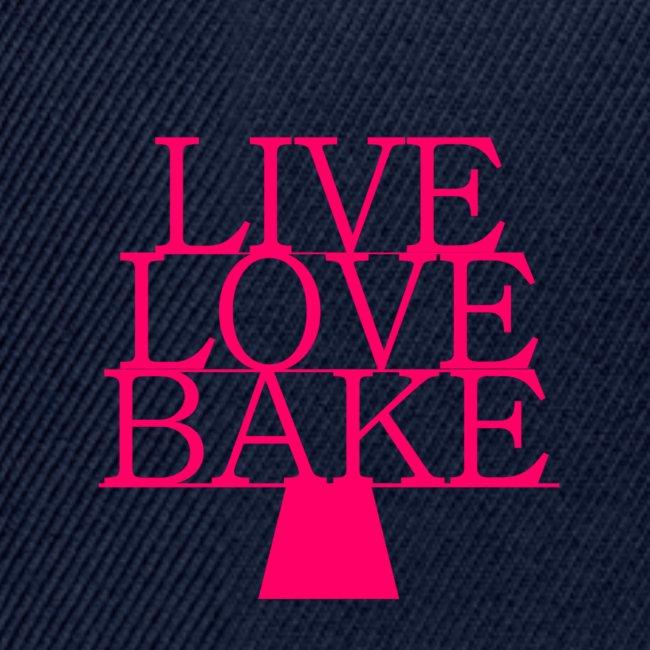 LiveLoveBake ekstra stor