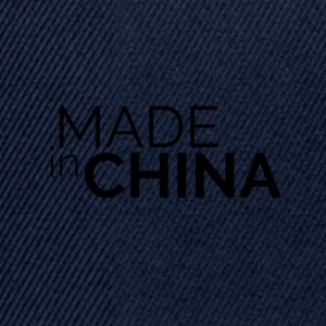 Made In China - Snapback cap
