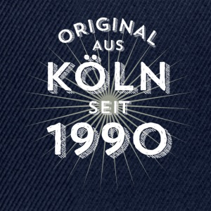 Original from Cologne since 1990 - Snapback Cap