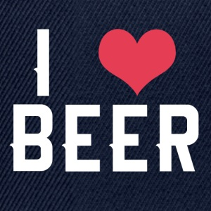 I love BEER - Snapback Cap