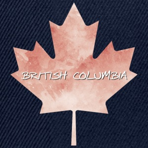 British Columbia Maple Leaf - Snapback Cap