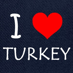 I Love Turkey - Snapback Cap