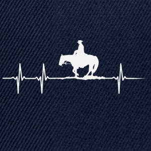 Heartbeat of a horse lover - Snapback Cap