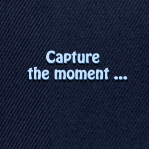 capturer le photographer`s de moment slogan - Casquette snapback