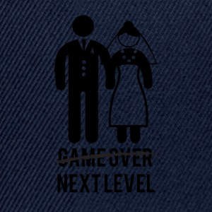 JGA / Junggesellenabschied: Game over - Next Level - Snapback Cap