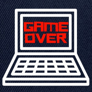 Game Over T-shirt Gamer - Casquette snapback