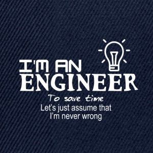 Trust me. I am an engineer - Snapback Cap