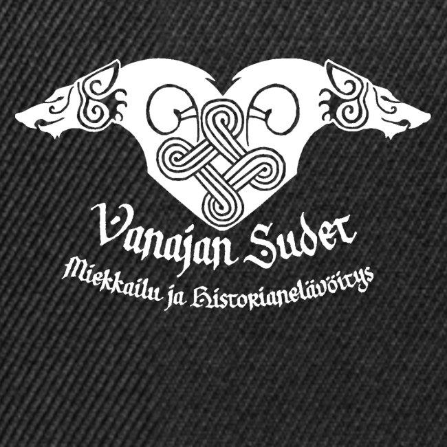 Vanajan Sudet Logo (valkoinen)