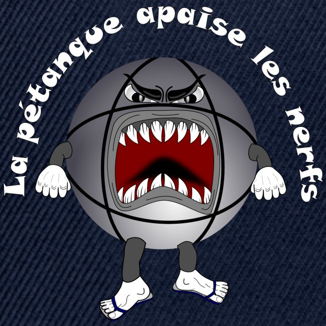 tee shirt petanque humour relax apaise nerf