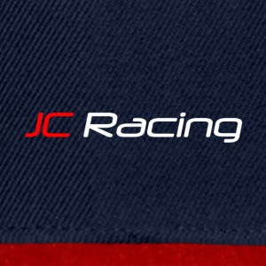 JC Racing Logo Text Only Large - Snapback Cap