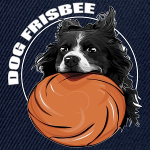 DOG FRISBEE Border Collie - Czapka typu snapback