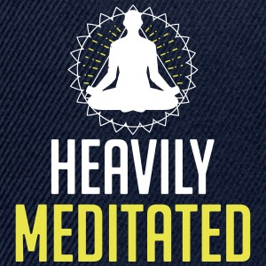 Heavily Meditated - Snapback Cap