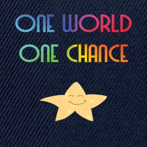 One World One Chance - Snapback Cap
