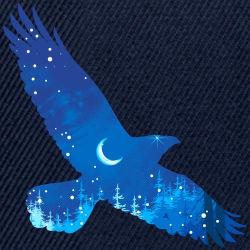 Oiseau Bleu d'hiver - Casquette snapback