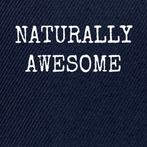 NATURALLY AWESOME - Snapback Cap