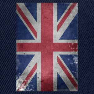 gb-drapeau britannique Union Jack English détruit UK - Casquette snapback