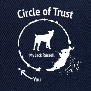 Lustige Jack-Russell-Shirt - Circle of Trust - Snapback Cap