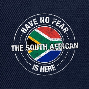 Have No Fear The South African Is Here Shirt - Snapback Cap