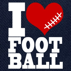 I LOVE FOOTBALL - Snapback Cap