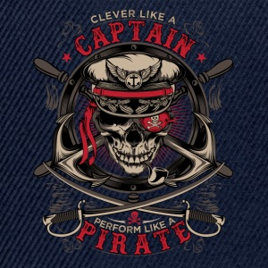 capitaine pirate - Casquette snapback