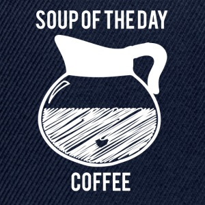 Kaffee: Soup of the Day - Coffee - Snapback Cap