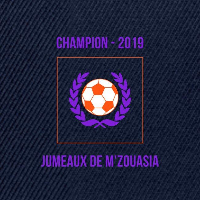 JUMEAUX CHAMPION RÉGIONAL 1 - 2019