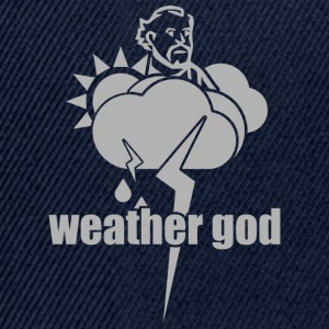 weather god - Snapback Cap
