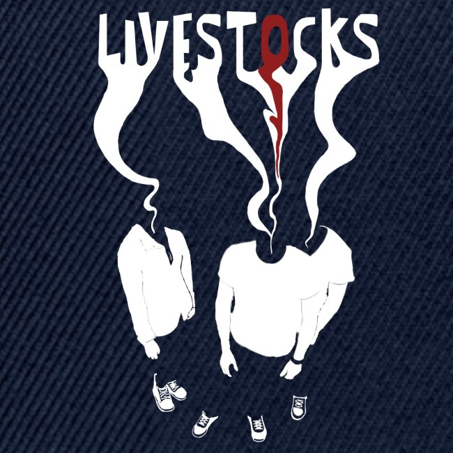 T-shirt livestocks ghost