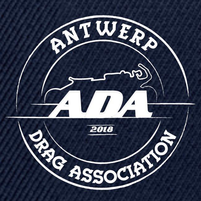 ADA DRAG Logo Groot Wit