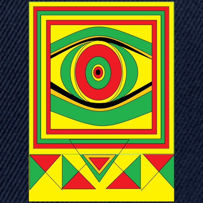 ALL seeing eye RASTA burn down babylon Original