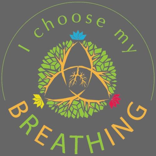 i choose my breathing V1 - Casquette snapback