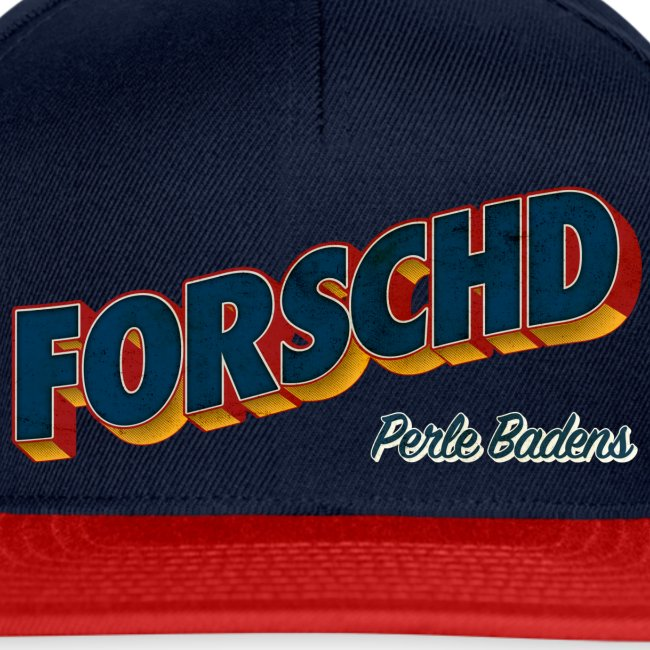 Forschd - Perle Badens - Vintage Logo ohne Bild