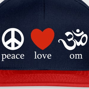 Peace Love Om - Casquette snapback