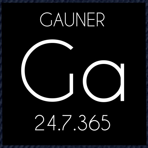 GAUNER-black - Snapback Cap