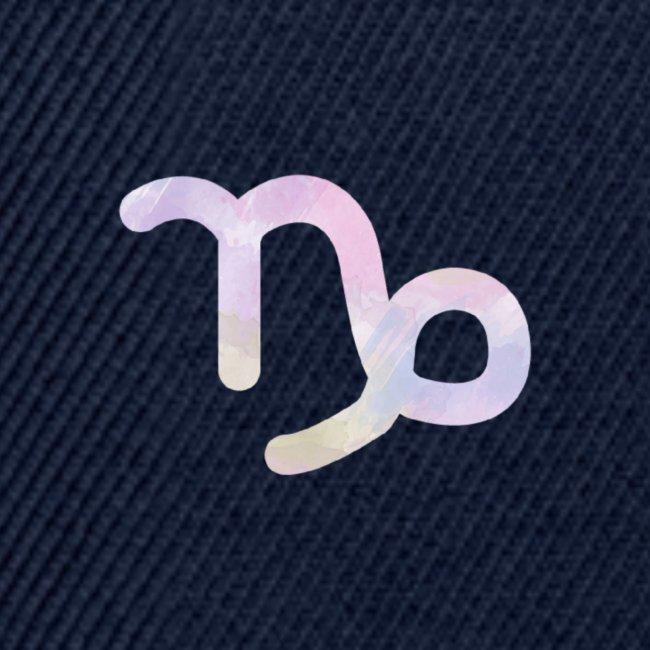 Símbolo zodiacal Capricornio