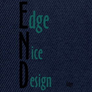 Edge_Nice_Design - Snapback-caps