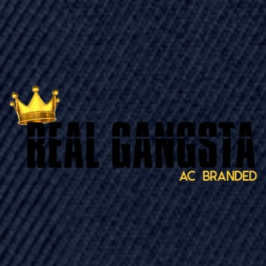 Real Gangsta AC BRANDED - Snapback Cap