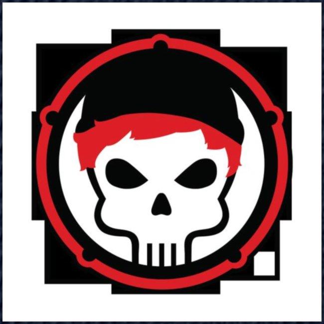 gamer skull nerd gothic