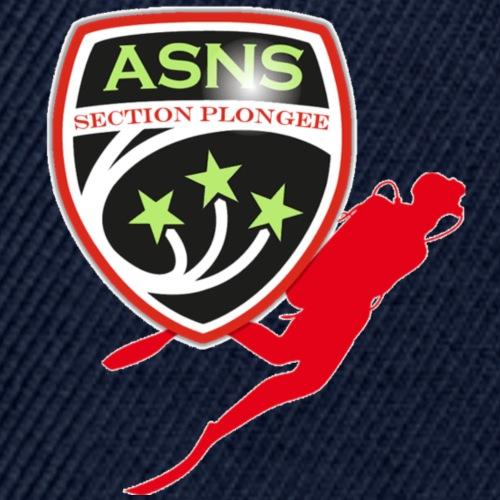 Logo-ASNS-Section-Plongee - Casquette snapback