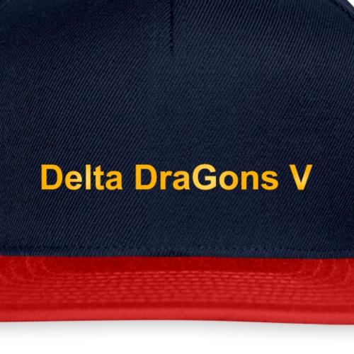 Delta DraGons V premium cap 2 - Snapback Cap