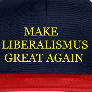 Make Liberalismus Great Again Gelb - Snapback Cap