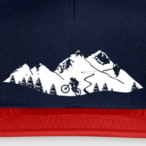 mountain Bike Trail - Snapback Cap