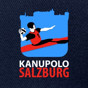 Kanupolo Logo No 2 gross 800x1100 negativ - Snapback Cap